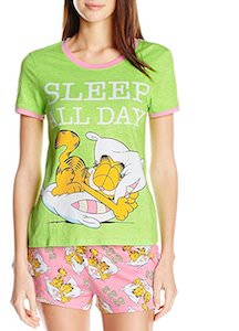 Women's Sleep All Day Garfield Pajama Set