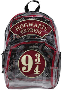 Harry Potter 9 3/4 Hogwarts Express Backpack