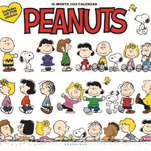 2018 Peanuts Happiness Is Wall Calendar