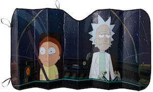 Rick And Morty Car Sun Shade