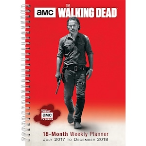 2018 The Walking Dead Planner