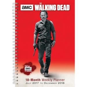 2018 The Walking Dead Planner
