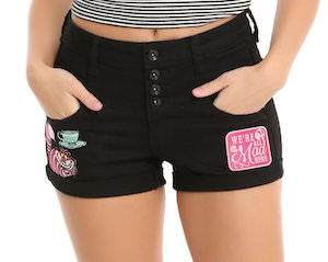 Women's Cheshire Cat Shorts