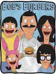 Bob's Burgers Family Blanket