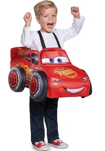 3D Lightning McQueen Costume For Toddlers