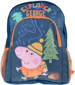 Peppa Pig Explorer George The Pig Backpack