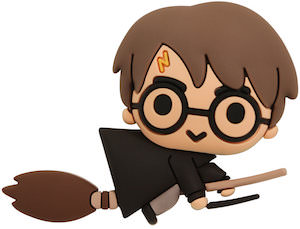 Harry Potter On His Broomstick Magnet