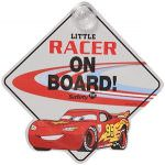 Cars Lightning McQueen Baby On Board Sign