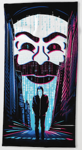 fsociety And Elliot Beach Towel