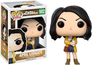 April Ludgate Pop! Figurine