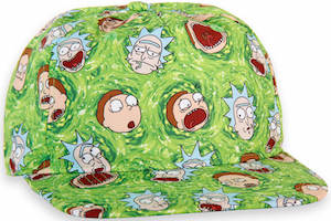 Green Rick And Morty Hat