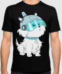 Rick And Morty Dog T-Shirt