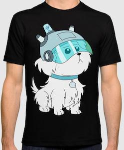 Rick And Morty Dog T-Shirt