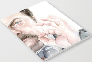 Ron Swanson Notebook