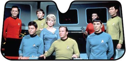 Star Trek Bridge Car Sun Shade