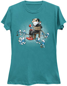The Smurfs Revenge On Gargamel T-Shirt