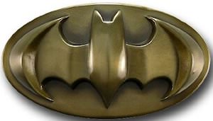 Batman Bronze Logo Belt Buckle