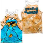 Sesame Street Cookie Monster Tank Top For Adults