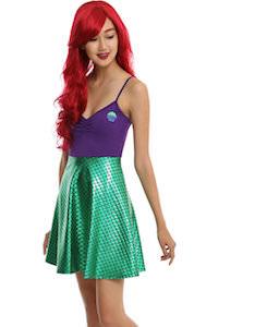 Women's Little Mermaid Costume Dress