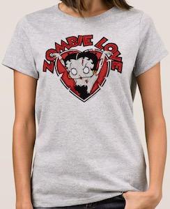 Betty Boop Zombie Love T-Shirt