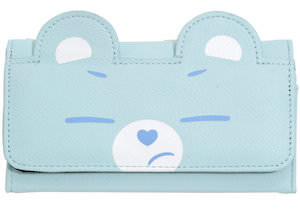 Light Blue Care Bears Wallet