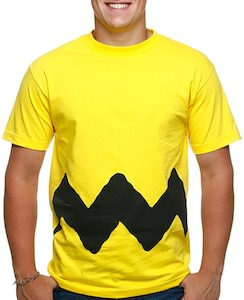 Yellow Charlie Brown Costume T-Shirt