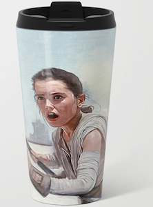 Star Wars Rey Travel Mug