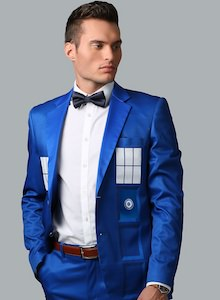 Formal Tardis Suit Jacket