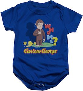 Curious George Who Me? Bodysuit