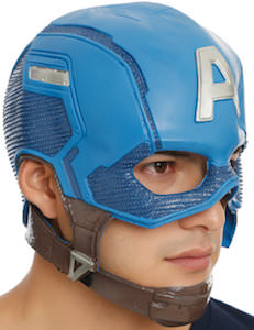 Marvel Captain America Mask And Helmet