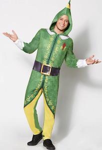 Elf Onesie Costume Pajama