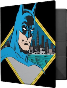 Bust Of Batman Binder