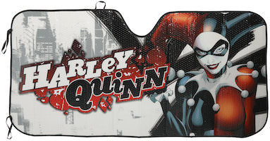 Harley Quinn Car Sun Shade