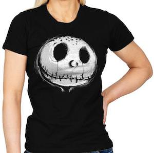 The Face Of Jack Skellington T-Shirt