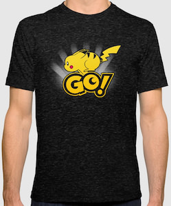 Pokemon Pikachu Go T-Shirt