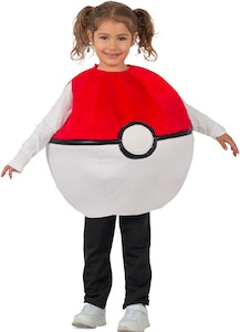 Kids Poke Ball Costume