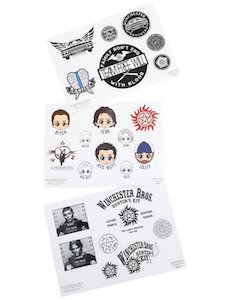 Supernatural Sticker Sheet