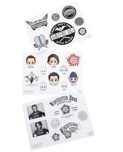 Supernatural Sticker Sheet