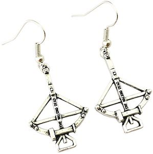 Daryl's Crossbow Earrings