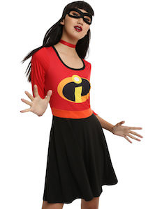 Women's The Incredibles Costume Dress