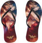 DC Comics Crossed Arms Wonder Woman Flip Flops