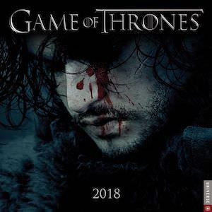 2018 Game of Thrones Wall Calendar
