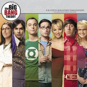 2018 The Big Bang Theory Wall Calendar