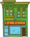 Bob's Burgers Restaurant Enamel Pin