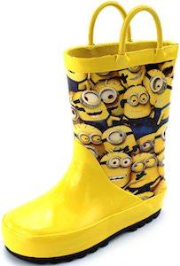 Despicable Me Minion Rain Boots