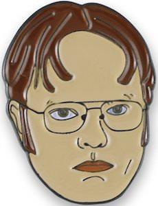 Dwight Schrute Enamel Pin