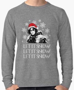 game of thrones jon snow christmas sweater