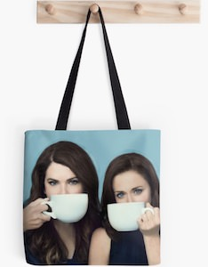 Lorelai And Rory Tote Bag