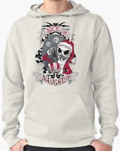 Jack Skellington Scary Santa Christmas Sweater