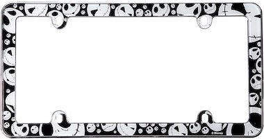 The Nightmare Before Christmas Jack Skellington License Plate Frame